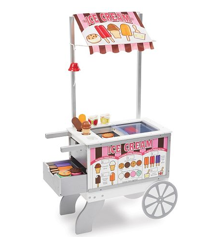 Melissa & Doug Snacks And Sweets Food Cart - Belle Bellina