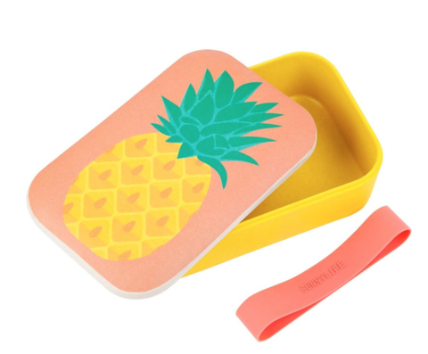 Sunny Life Eco Lunch Box Pine Apple - Belle Bellina