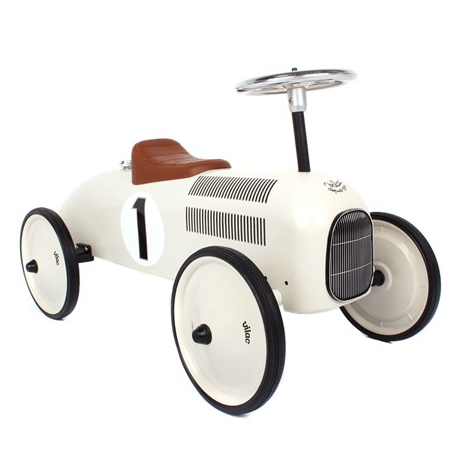 Magicforest White Racing Car - Belle Bellina