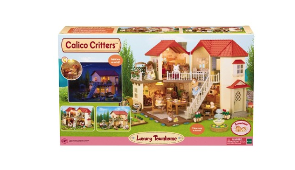 Calico Critters TownHome Gift Set - Belle Bellina