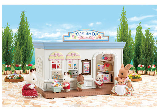 Calico Critters Toy Shop - Belle Bellina
