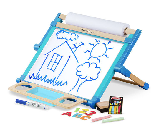 Melissa & Doug Deluxe Double-Sided Tabletop Easel - Belle Bellina