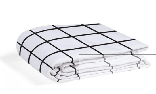 Gautier Polka Fitted Sheet Black & White - Belle Bellina