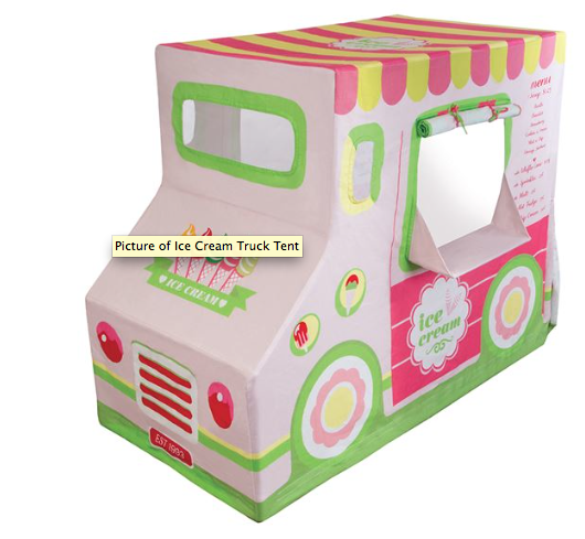 Pacific Play Tents- Ice Cream Truck Tent - Belle Bellina  - 2