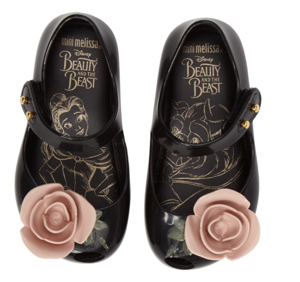 Mini Melissa Ultragirl Beauty & The Beast Mary Jane Flat