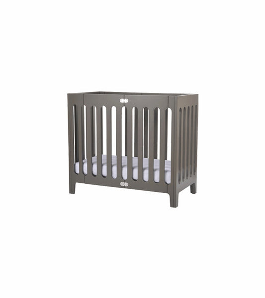 Bloom Alma Mini Urban crib frame - frost grey - Belle Bellina  - 2