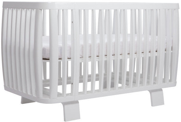 Bloom Retro Crib Coconut White - Belle Bellina  - 1