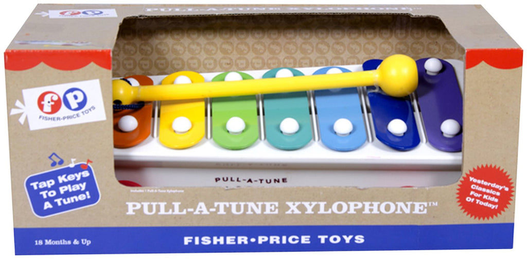 Fisher-Price Pull-A-Tune Xylophone - Belle Bellina