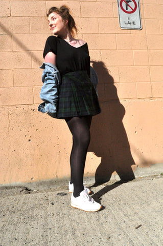 Plaid Skirts and Spring Style