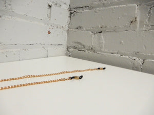 Simple Gold Sunglasses Chain