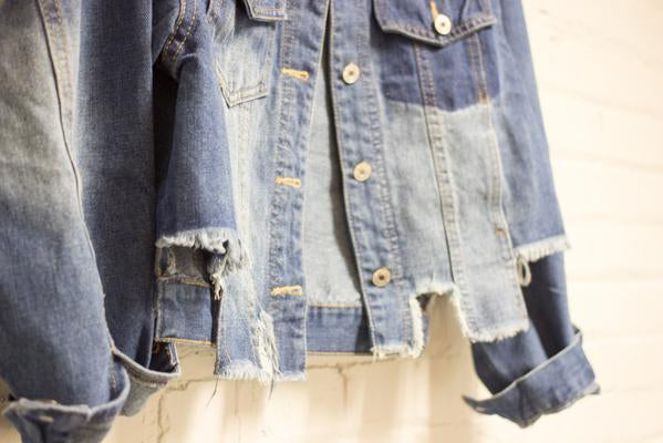 The Frayed Denim Jacket
