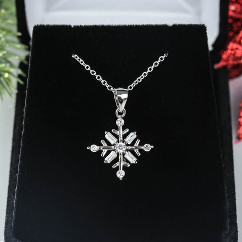 Dainty Art Deco Flower Necklace - 40% Final Sale