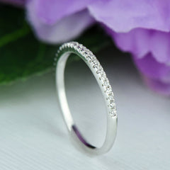 Small Half Eternity Band