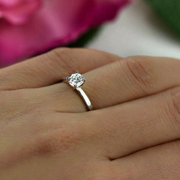 1/2 ct Solitaire Ring, 40% off Final Sale, Sz 4, 8-12