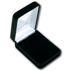 Black Velvet Necklace Box