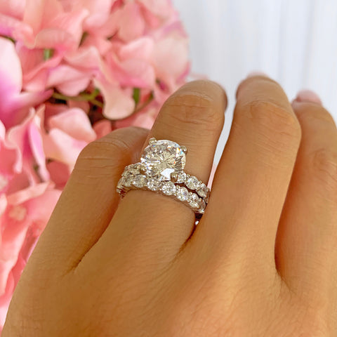1/2 ct Stacking Solitaire Set