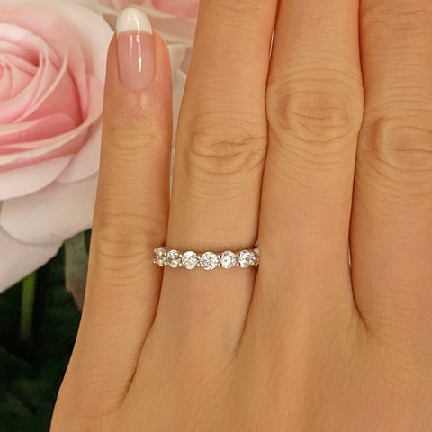 Art Deco Marquise Eternity Band