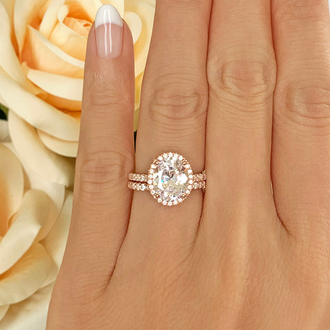 1.5 ct 6 Prong Stacking Solitaire - Rose GP