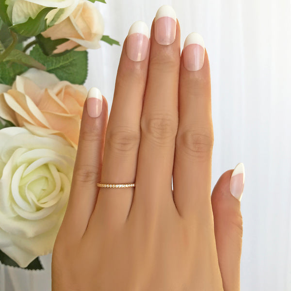 Half Eternity Band - Yellow GP