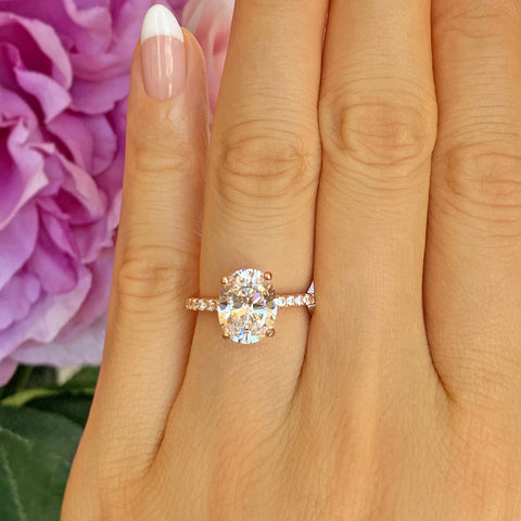 1.25 ctw Wide Art Deco Solitaire Ring