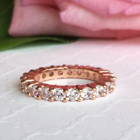 4 ctw Oval Eternity Band