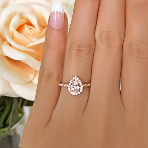 3 ct 6 Prong Solitaire Ring