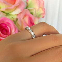 4 ctw Classic Full Eternity Band