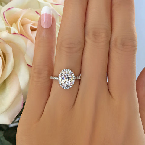 2 ct 4 Prong Solitaire Ring
