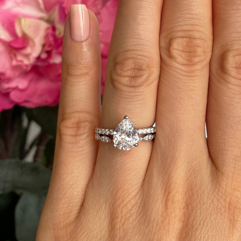 3.25 ctw Channel Solitaire Full Eternity Set