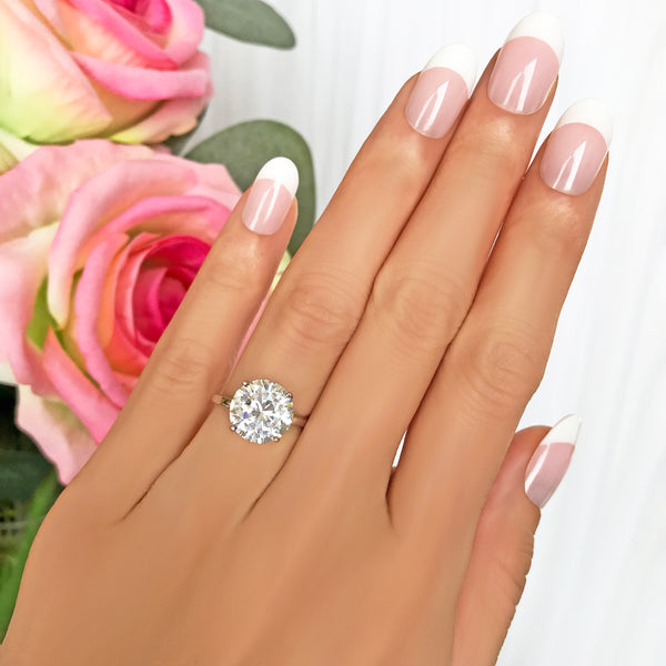 4 ct Classic Solitaire Ring - 40% Final Sale