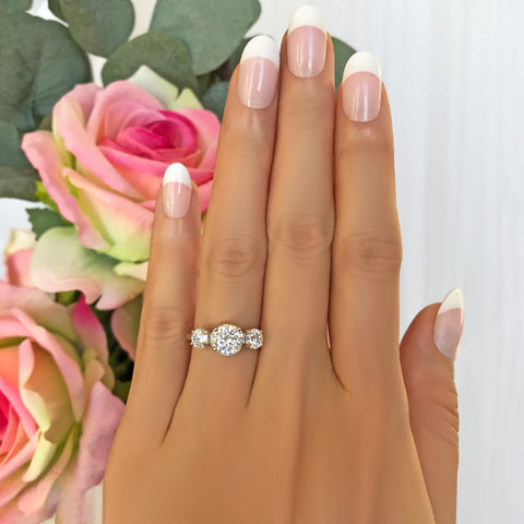 1 ct Solitaire Ring - Rose GP