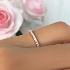 Half Eternity Band - Rose GP