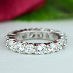 4 ctw Full Eternity Band