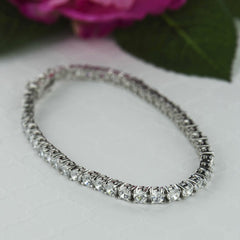 10 ctw Eternity Tennis Bracelet - 40% Final Sale