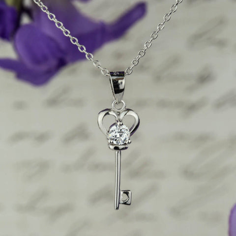 .1 ct Eternal Love Heart Necklace