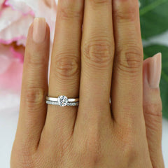 1/2 ct Solitaire Set