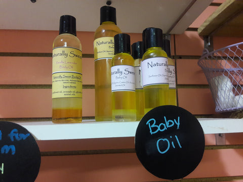 oils - Naturally Sweet
