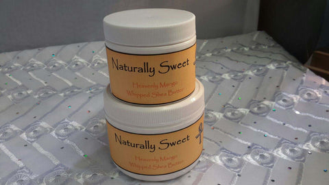 Whipped Shea Butter - Naturally Sweet
