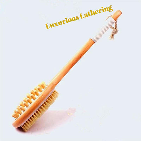 Exfoliating and Cellulite Bamboo Shower brush