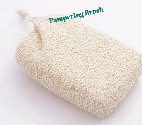 exfoliating brush - Naturally Sweet