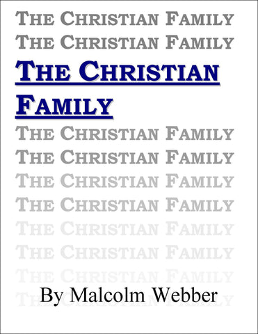 The Christian Family (eBook - PDF Download)
