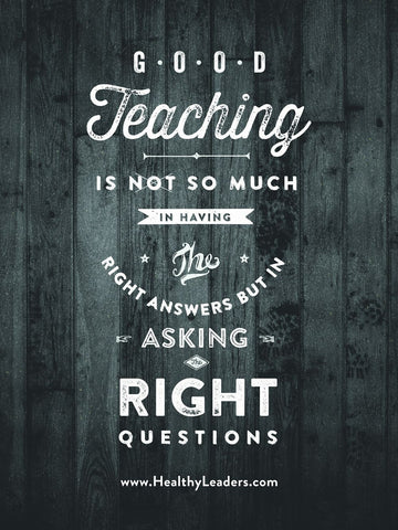 Good Teaching Poster