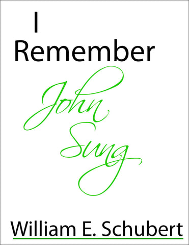 I Remember John Sung
