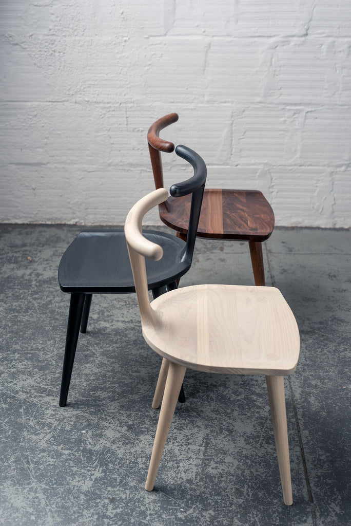 Oxbend Chair - Charcoal Ash
