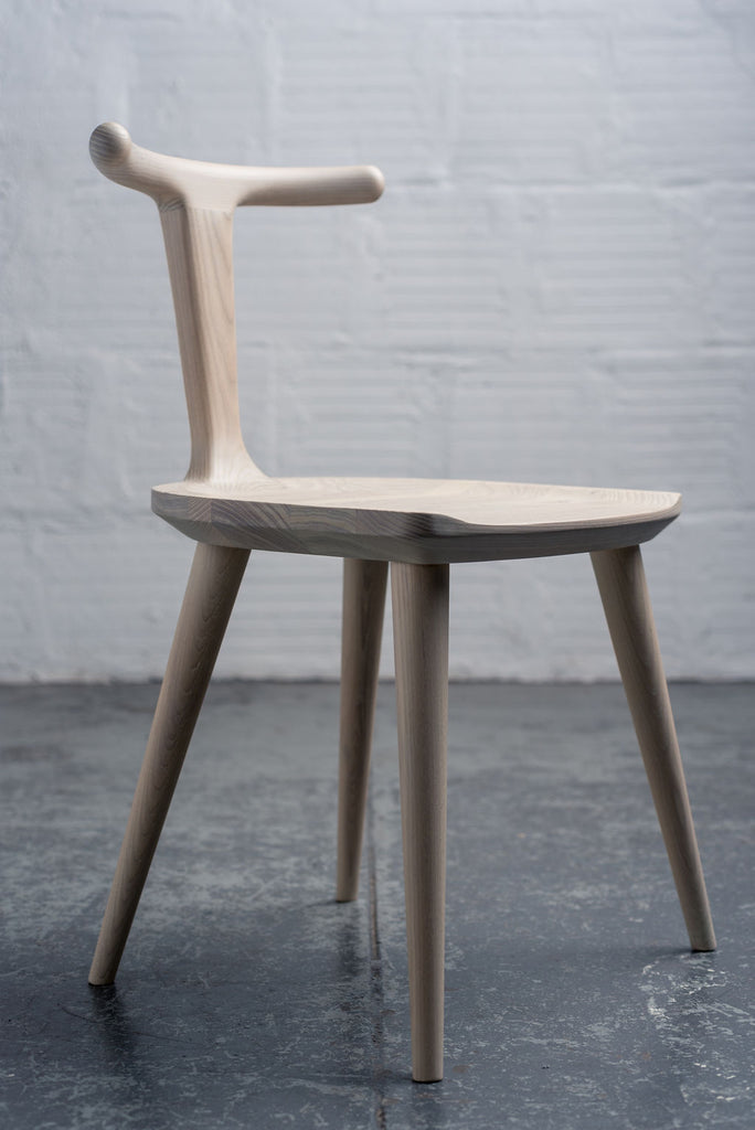 Oxbend Chair - White Ash