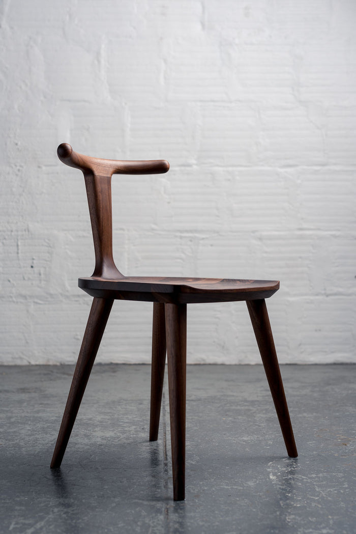 Oxbend Chair - Walnut