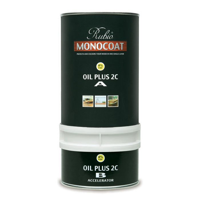 "Color ""Pure"" - Rubio Monocoat Oil Plus 2C - 1.3 L"