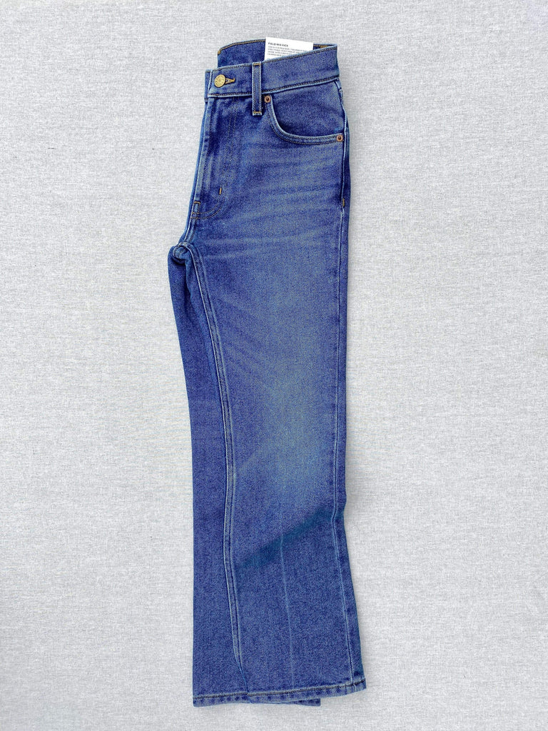 B SIDES field mid kick jean in viva wash