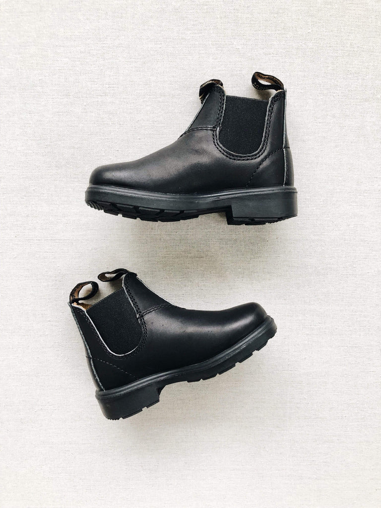 Blundstone Child 531 Boots in Black Leather