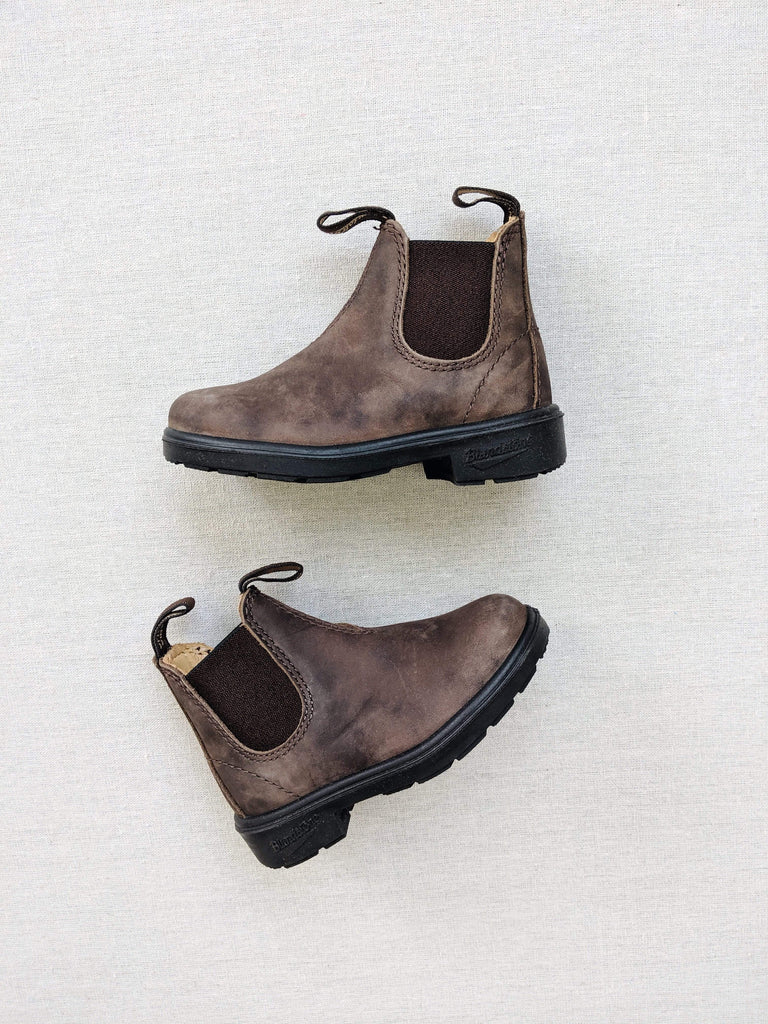 Blundstone Child 565 Boots in Rustic Brown Leather